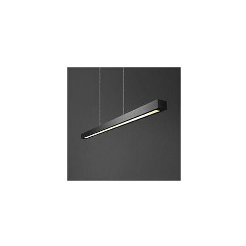 Set raw zwis 150cm 49w evg lampa wisząca 54521-02 czarna marki Aquaform