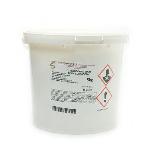 Boraks Borax Czteroboran Sodu Dziesięciowodny 5kg STANLAB