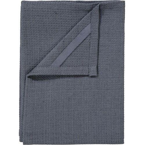 Ręcznik kuchenny 2 szt. grid gunmetal marki Blomus