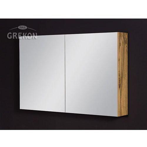 Szafka łazienkowa z lustrem 100x65 seria Fokus NE