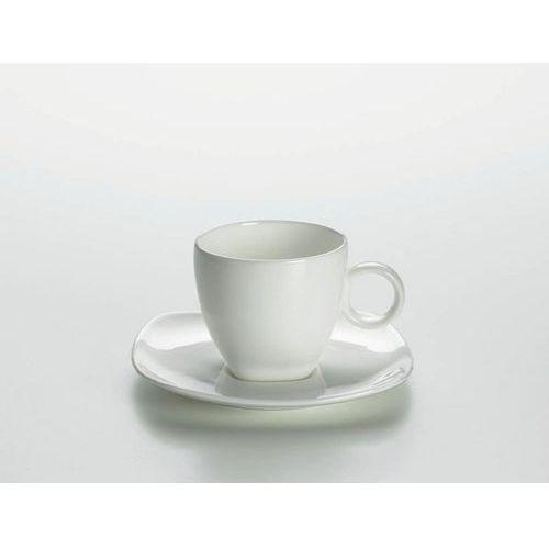 Cashmere square - niska filiżanka do espresso z podstawką marki Maxwell & williams