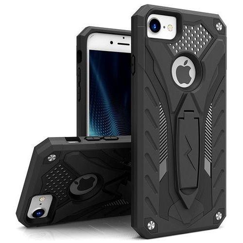 Zizo  static cover - pancerne etui iphone 7 z podstawką (czarny/czarny)