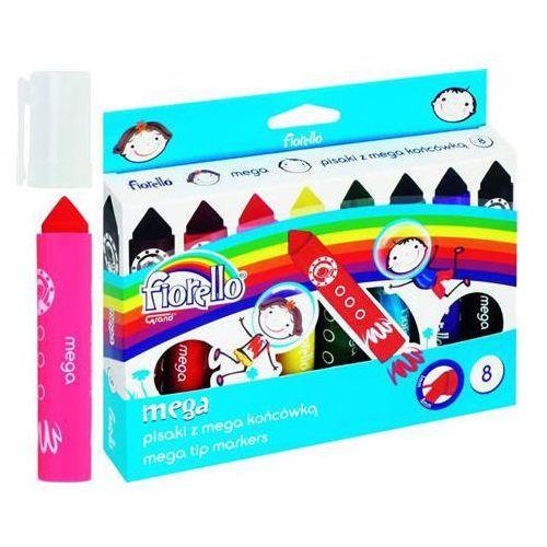 Pisaki Mega 8 kolorów