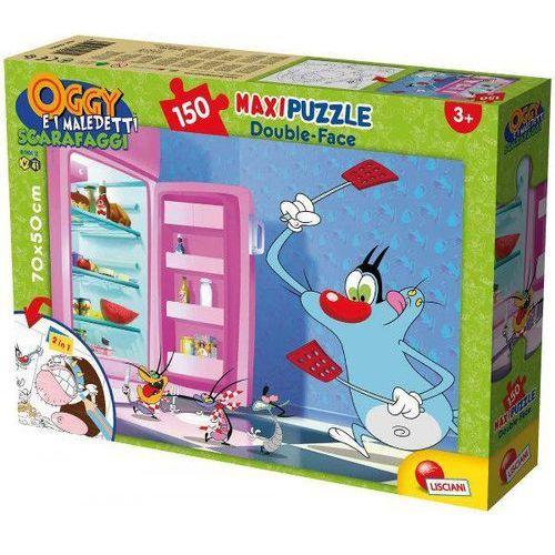 Puzzle dwustronne 2w1 maxi 150 oggy i karaluchy marki Lisciani
