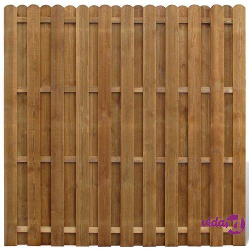 płot sztachetowy drewniany marki Vidaxl