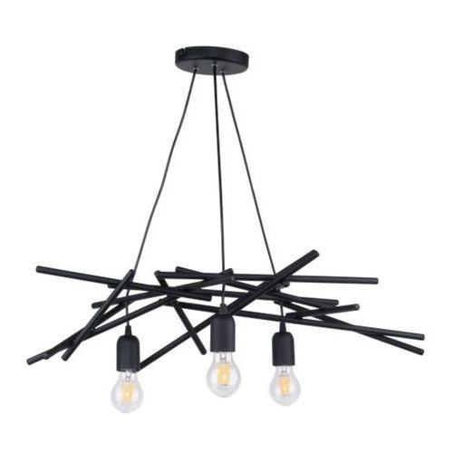 glenn lampa wisząca czarny 3xe27 -60w 9222304 marki Spot-light