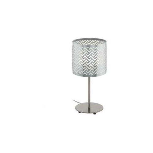Eglo Lampka stołowa lemington 1 49167 nocna 1x60w e27 nikiel mat/chrom (9002759491673)