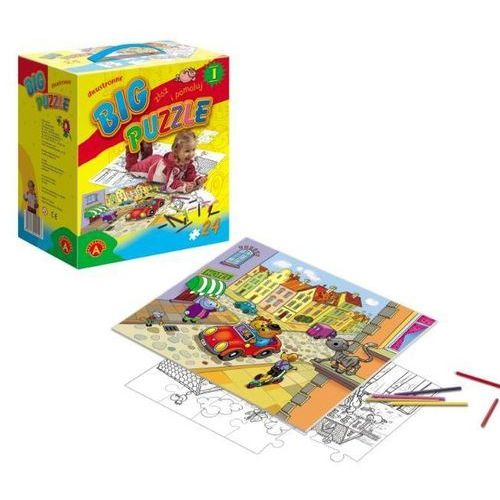 , puzzle big do kolorowania marki Alexander