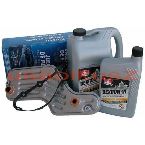 Filtr oraz olej dextron-vi automatycznej skrzyni biegów 5r55 ford explorer marki Petro-canada
