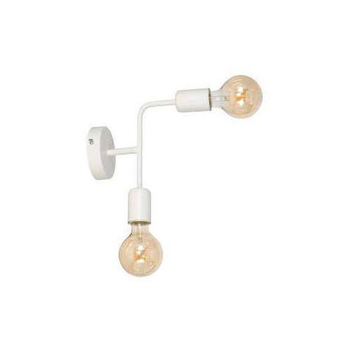 Luminex Kinkiet lampa ścienna candela 2x60w e27 biały 8921 (5907565989212)