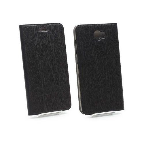 Huawei y6 ii compact - etui na telefon flex book - czarny marki Etuo flex book