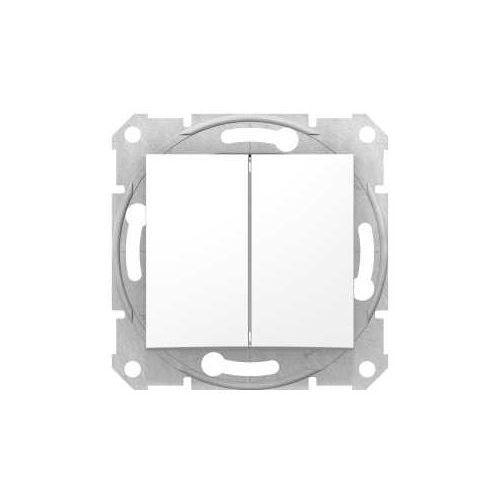 Przycisk chwilowy podwójny sedna sdn1100121 biały marki Schneider