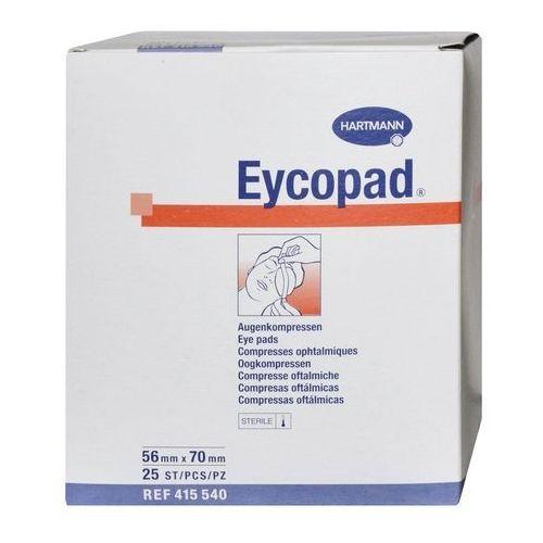 Opatrunek oczny EYCOPAD 56 cm x 70 cm, jałowy, 25 szt., HAR-EYC-5670