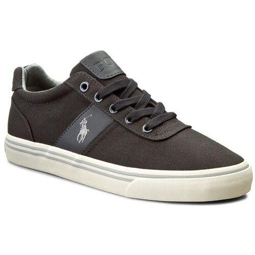 Tenisówki POLO RALPH LAUREN - Hanford A85 Y2139 C0225 A027D Dark Carbon/Grey, kolor szary