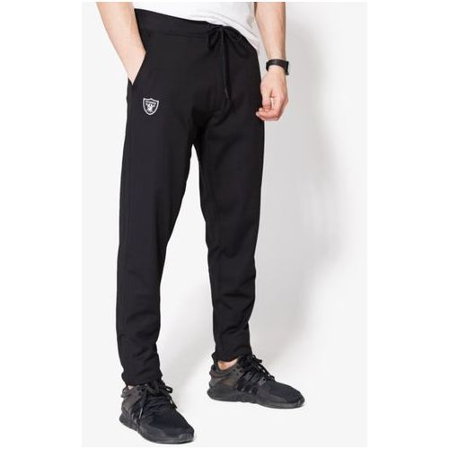 NEW ERA SPODNIE BORDER EDGE TRK PANT OAK RAIDERS BLK