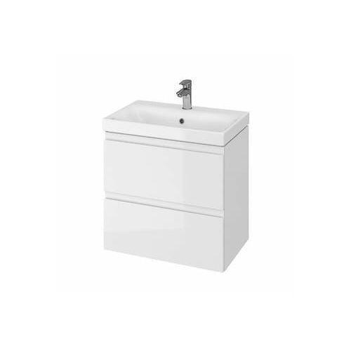 CERSANIT Zestaw łazienkowy MODUO SLIM 60cm biały (szafka+umywalka) s801-227, s801-227