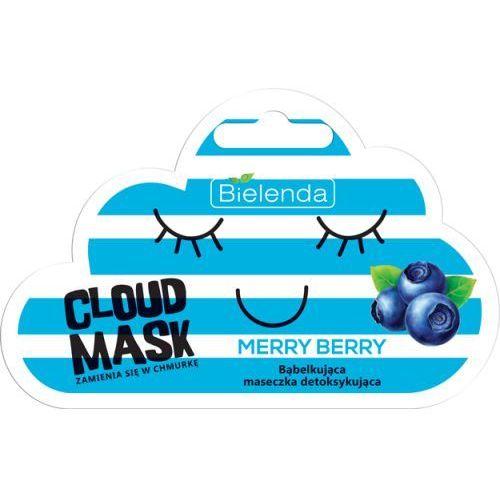 Bielenda cloud mask maseczka do twarzy 6g merry berry (5902169032821)