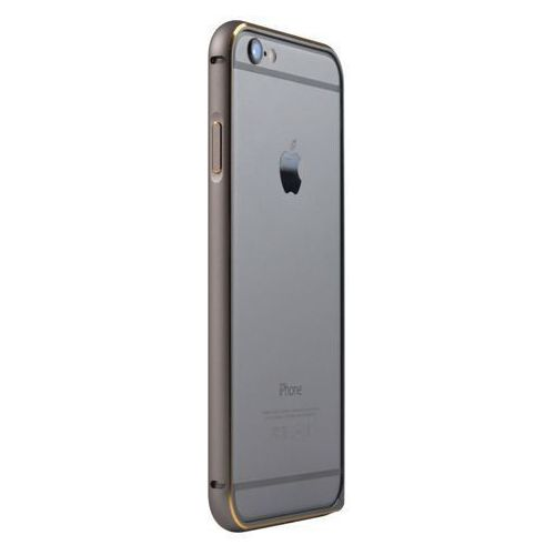 """Aluminiowy bumper ramka JCPAL Casense Aluminum Bumper - space grey - iPhone 6 4.7"""" (6954661841226)"""