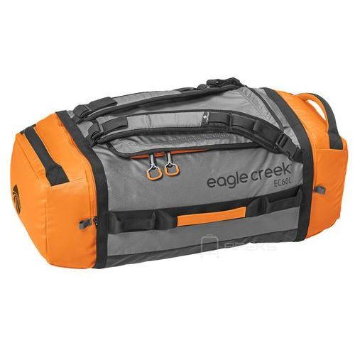 Eagle Creek Cargo Hauler Duffel 60L torba podróżna składana 67 cm / plecak / Orange / Grey - Orange / Grey, kolor szary