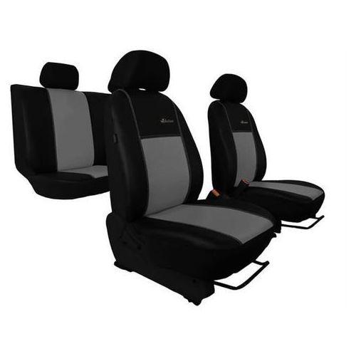 Pokrowce samochodowe exclusive - skórzane szare seat leon iii od 2013 - szary marki Pok-ter