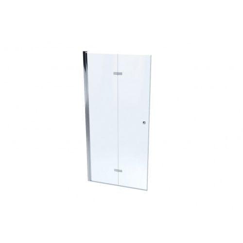 montero system drzwi prysznicowe 110 cm szkło przezroczyste mskp-mn-0041100 marki Massi