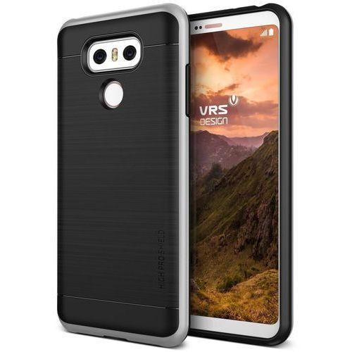Etui VRS Design High Pro Shield LG G6 Light Silver