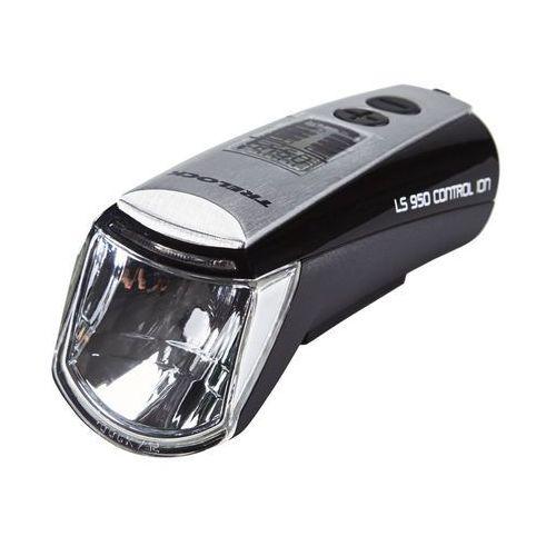 ls 950 control ion oświetlenie czarny lampki na baterie przednie marki Trelock