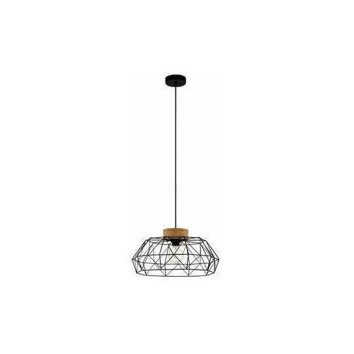 Eglo padstow 43364 lampa wisząca zwis 1x60w e27 czarna