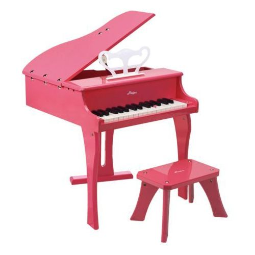 Hape Wesołe, różowe pianino E0319