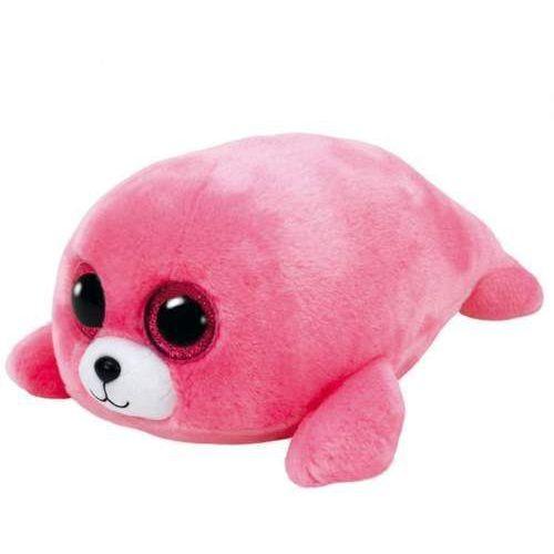 Ty  beanie boos pierre - różowa foka (0008421371983)