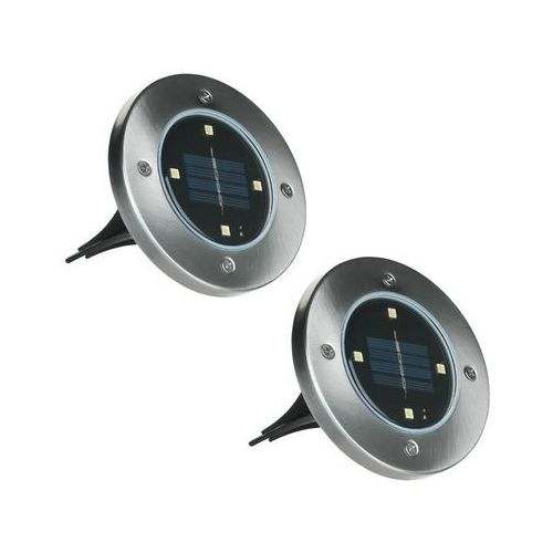 Activejet Lampki wbijane solarne 2 szt. ip65 (5901443110439)