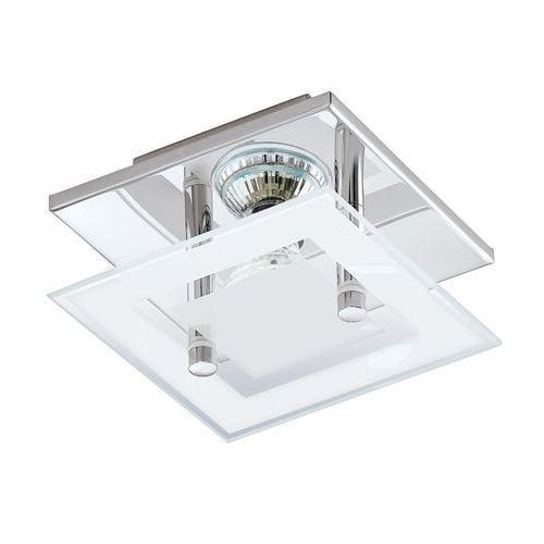 Eglo Plafon almana 94224 lampa sufitowa ścienna 1x3w gu10-led chrom/biały (9002759942243)