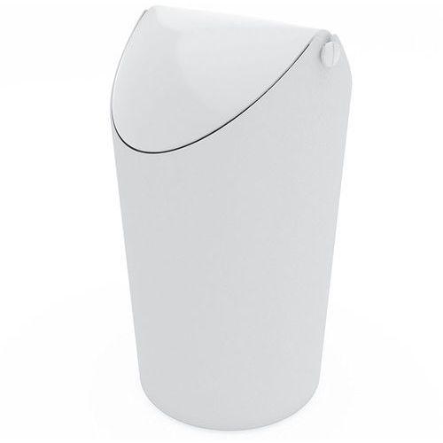 Kosz na śmieci JIM, 3,5 l - kolor biały, KOZIOL, kolor biały