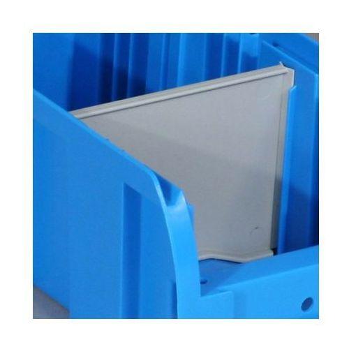 Przegroda do plastikowych pojemników compact, poprzeczna, szerokość 80 mm marki Allit