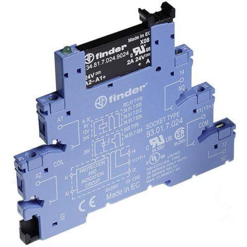 Przekaźnikowy moduł sprzęgający Finder 38.81.0.125.9024 (8012823270913)