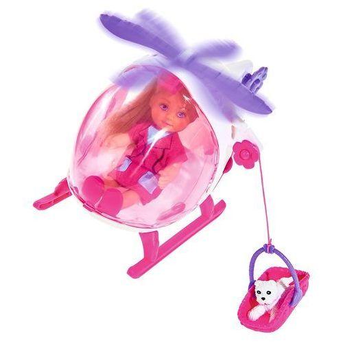 Evi w helikopterze ratunkowym marki Simba