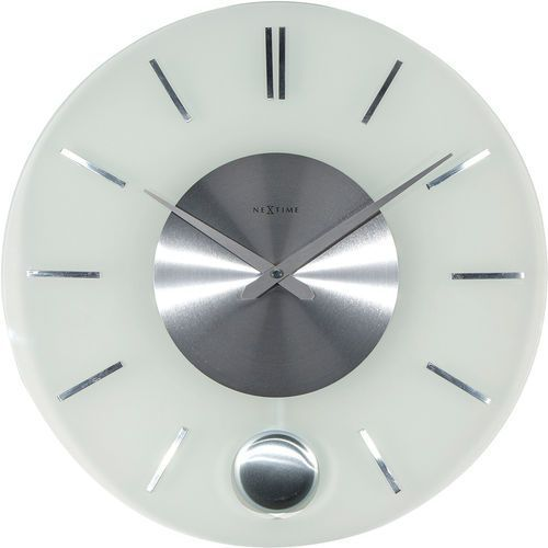 Nextime Zegar ścienny z wahadłem stripe 40 cm (3145)