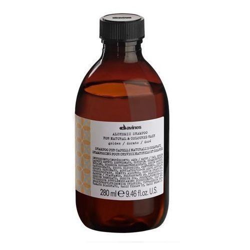Davines Alchemic Golden - szampon do włosów o kolorze złocisty blond 280ml (8004608258957)