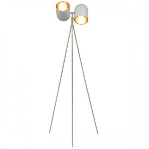 Lampa podłogowa aston biała/czarna marki Zuma line