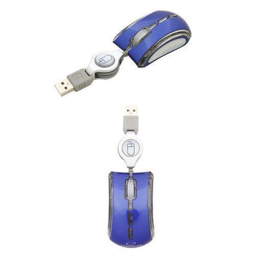 Mysz optyczna Esperanza Celaneo EM109B kolor niebieski (5905784767376)