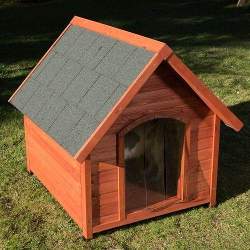 Buda dla psa spike all seasons - rozm. m, szer. x gł. x wys.: 85,1 x 90 x 84 cm marki Zooplus exclusive