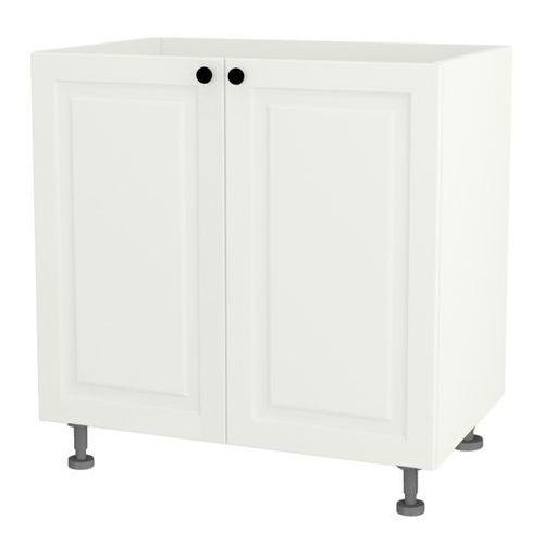 Cooke&lewis Szafka kuchenna dolna zlewozmywakowa 2-drzwiowa luiza dz-80/2 biały matowy (5908305632856)