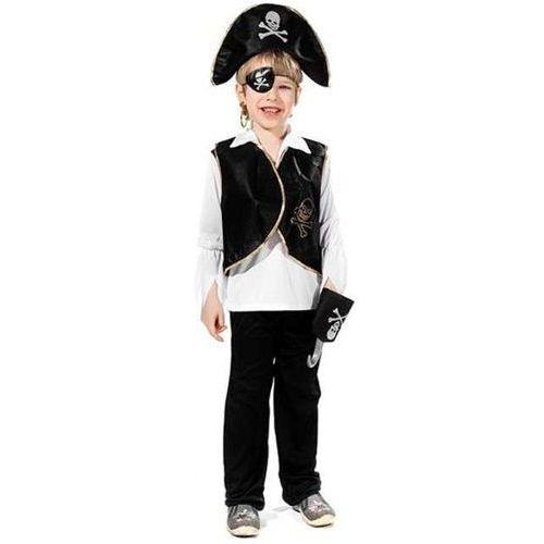 _xx_Zestaw Pirata 2 (kamizelka, czapka, hak, opaska na oko, kolczyk)