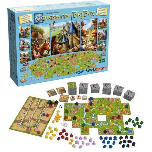 Carcassonne big box 6 marki Bard
