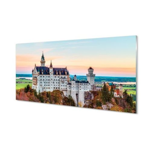 Tulup.pl Obrazy akrylowe niemcy zamek jesień monachium