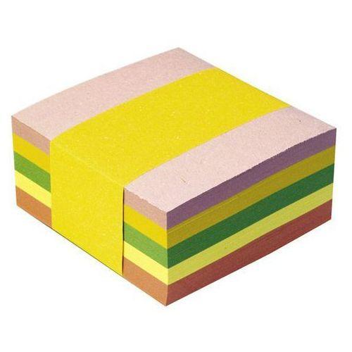 Idest Kostka papierowa nieklejona 85x85/400k. mix