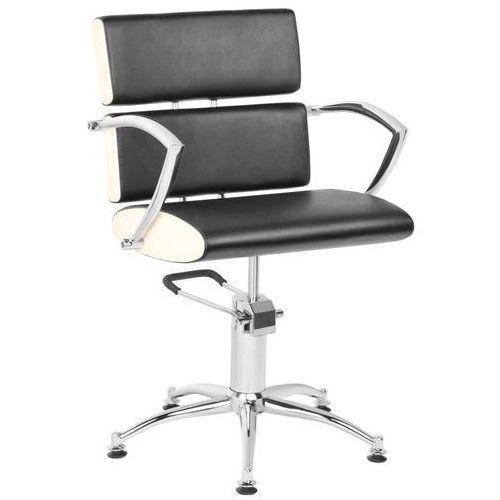 Gabbiano fotel fryzjerski essen czarno - kremowy marki Activ
