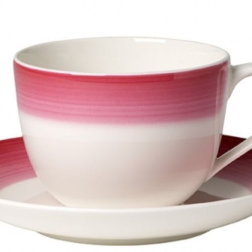 - colourful life berry fantasy filiżanka do kawy ze spodkiem marki Villeroy & boch
