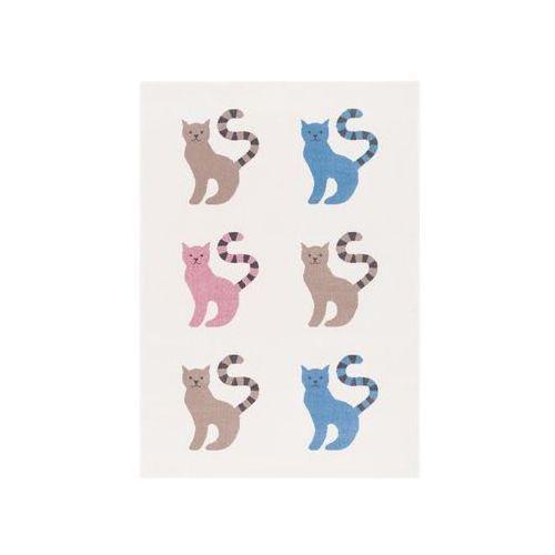 Dywan kitty perłowy 133 x 190 cm wys. runa 7 mm marki Agnella