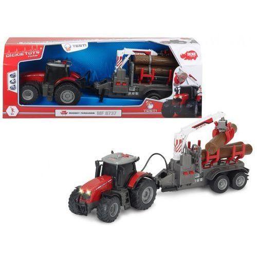 Dickie Traktor massey ferguson 8737, 42 cm